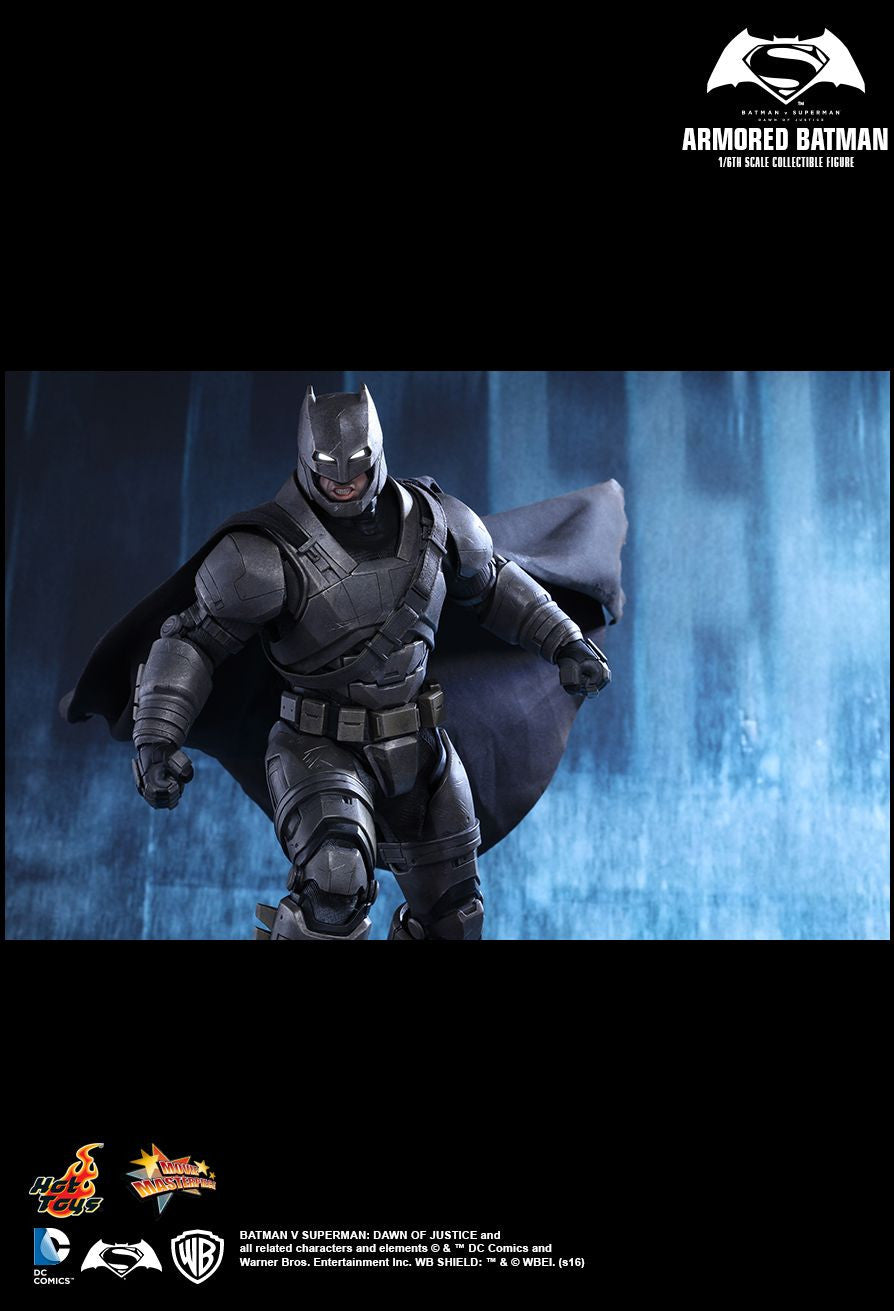 Hot Toys - MMS349 - Batman v Superman: Dawn Of Justice - Armored Batman - Marvelous Toys - 11