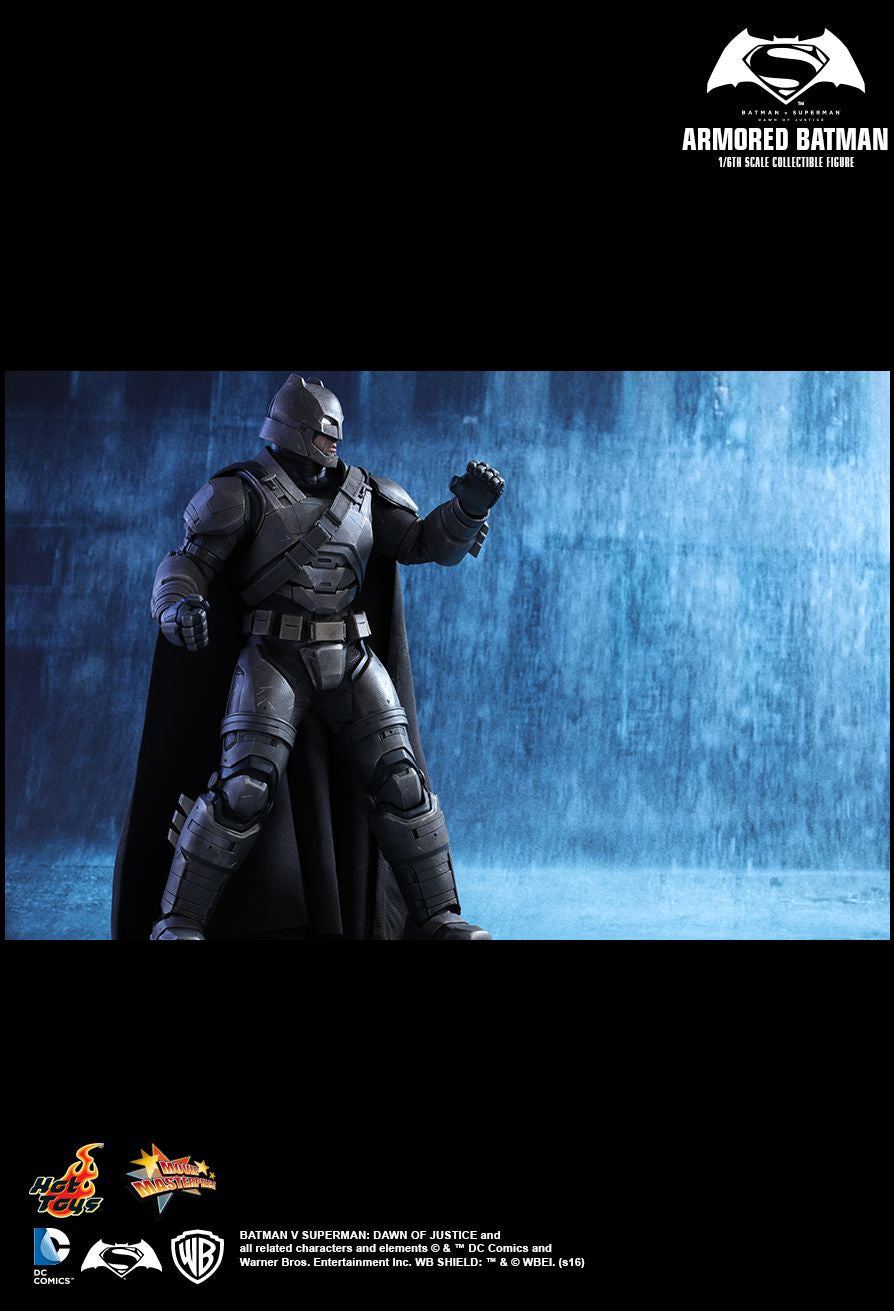 Hot Toys - MMS349 - Batman v Superman: Dawn Of Justice - Armored Batman - Marvelous Toys - 12