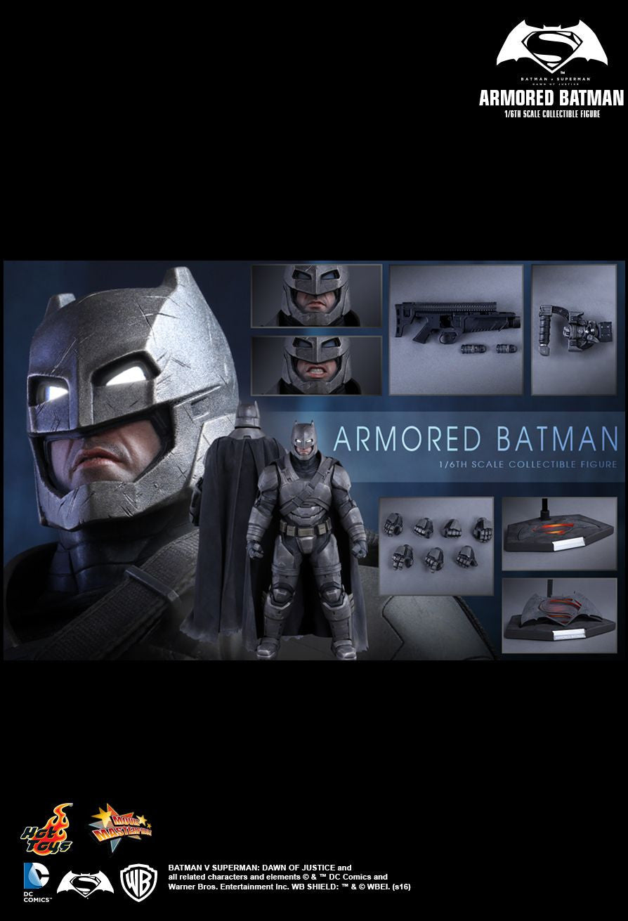 Hot Toys - MMS349 - Batman v Superman: Dawn Of Justice - Armored Batman - Marvelous Toys - 13