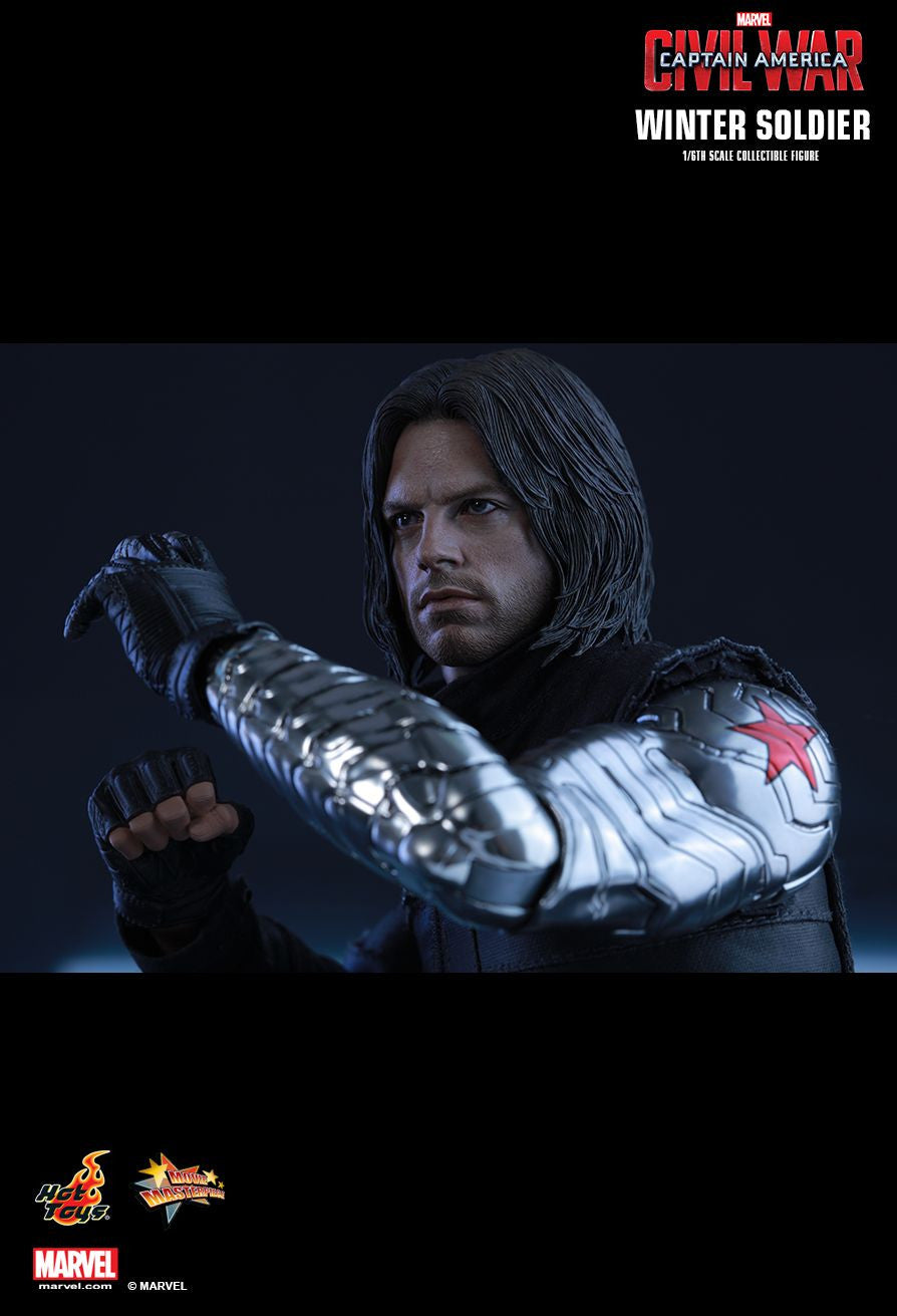 Hot Toys - Captain America: Civil War - Winter Soldier MMS351 - Marvelous Toys - 2