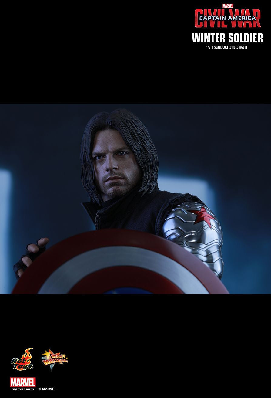 Hot Toys - Captain America: Civil War - Winter Soldier MMS351 - Marvelous Toys - 8
