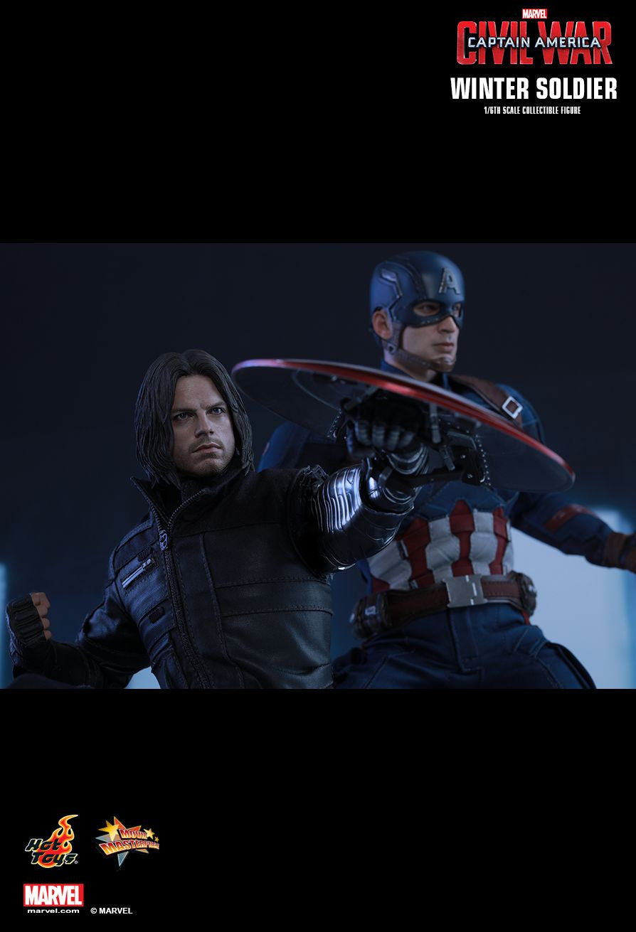 Hot Toys - Captain America: Civil War - Winter Soldier MMS351 - Marvelous Toys - 3