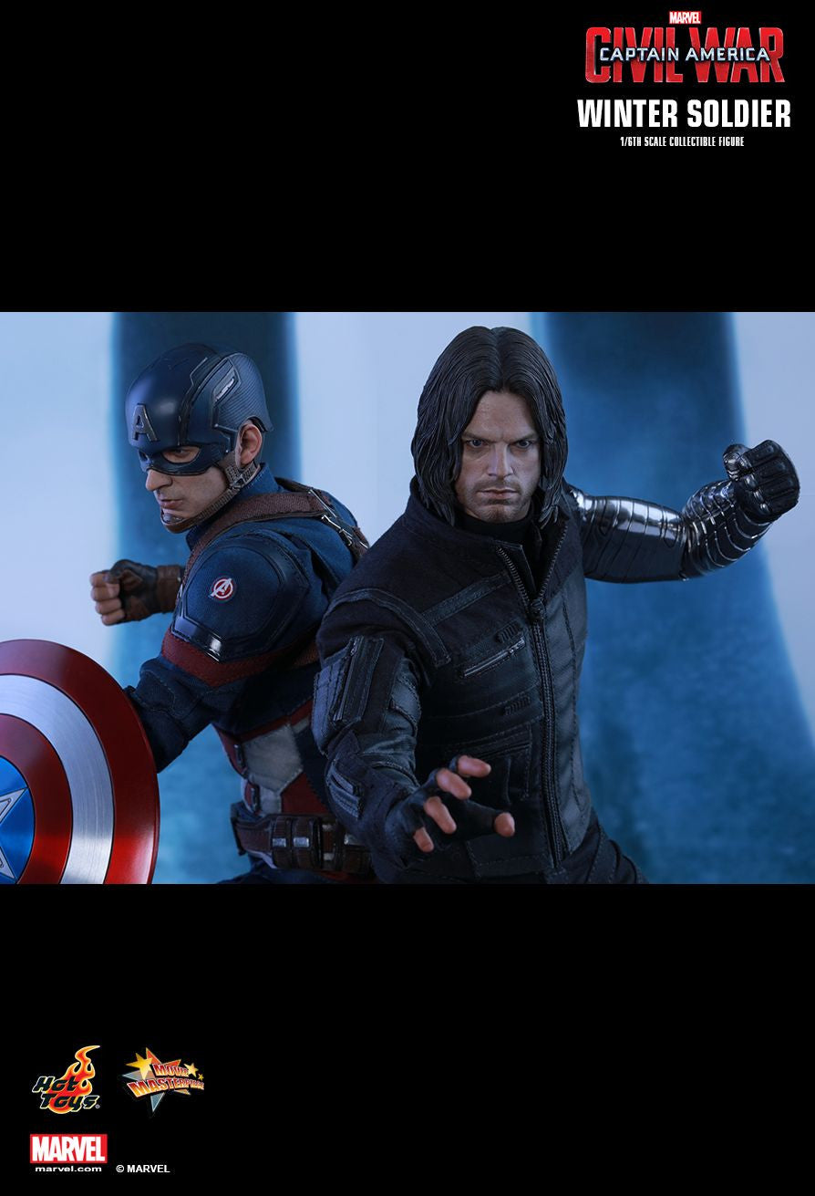 Hot Toys - Captain America: Civil War - Winter Soldier MMS351 - Marvelous Toys - 9