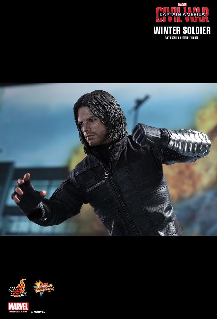 Hot Toys - Captain America: Civil War - Winter Soldier MMS351 - Marvelous Toys - 10