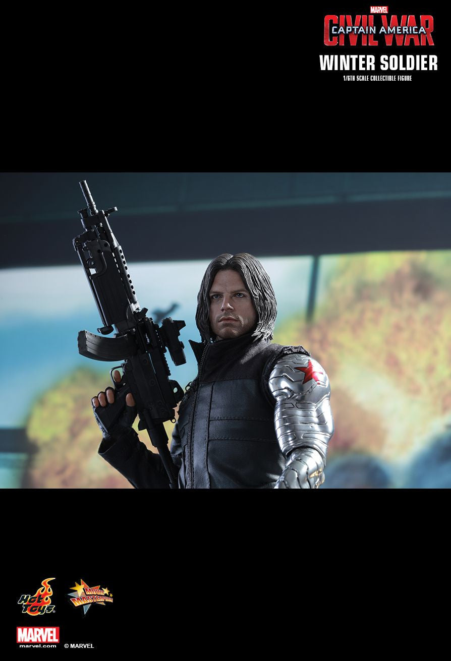 Hot Toys - Captain America: Civil War - Winter Soldier MMS351 - Marvelous Toys - 5