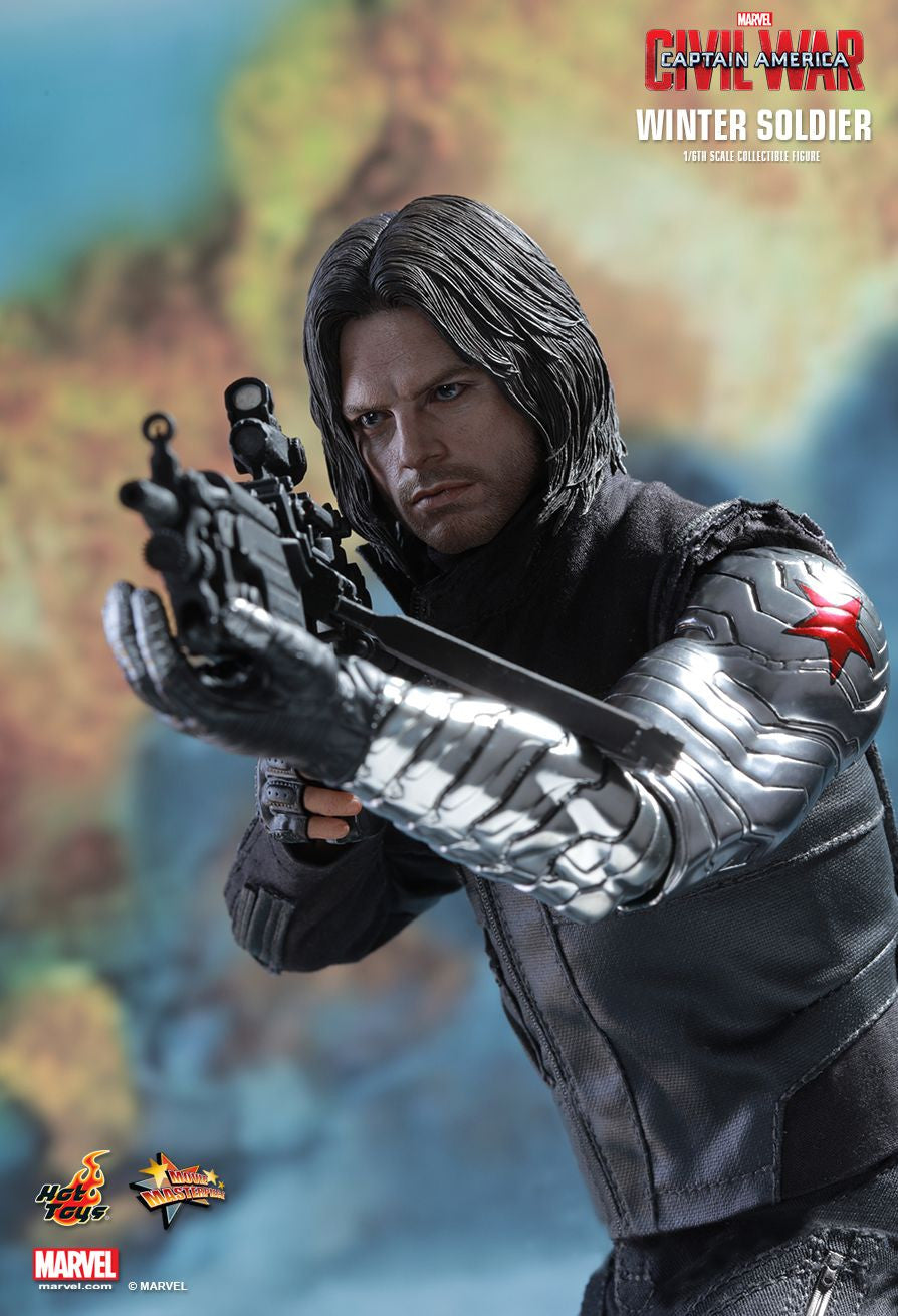 Hot Toys - Captain America: Civil War - Winter Soldier MMS351 - Marvelous Toys - 1