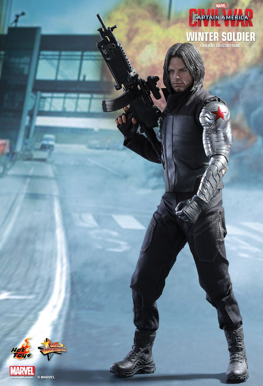 Hot Toys - Captain America: Civil War - Winter Soldier MMS351 - Marvelous Toys - 6