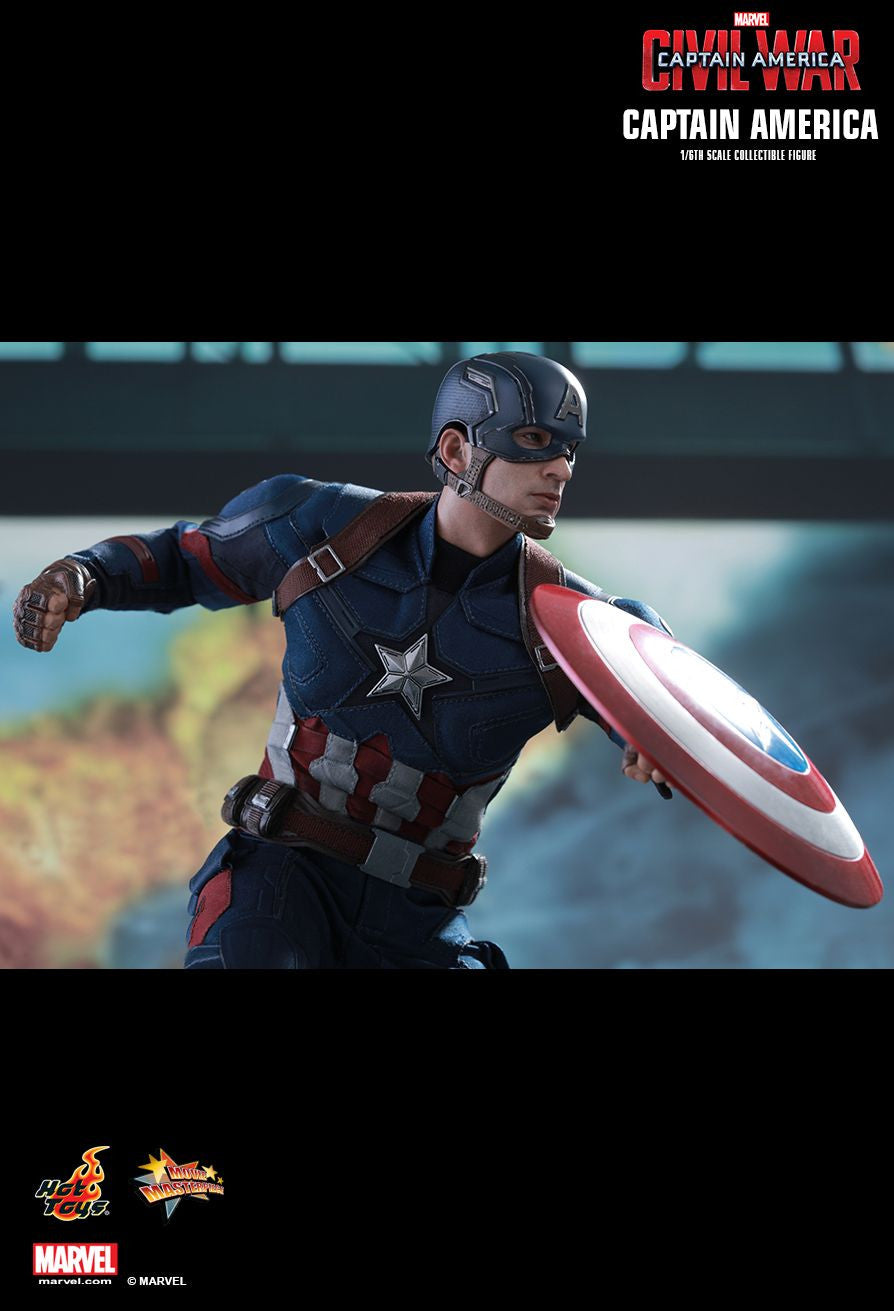 Hot Toys - Captain America: Civil War - Captain America MMS350 - Marvelous Toys - 2