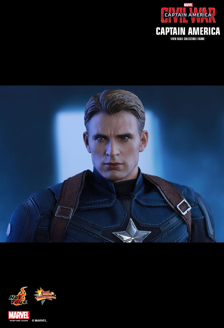 Hot Toys - Captain America: Civil War - Captain America MMS350 - Marvelous Toys - 3
