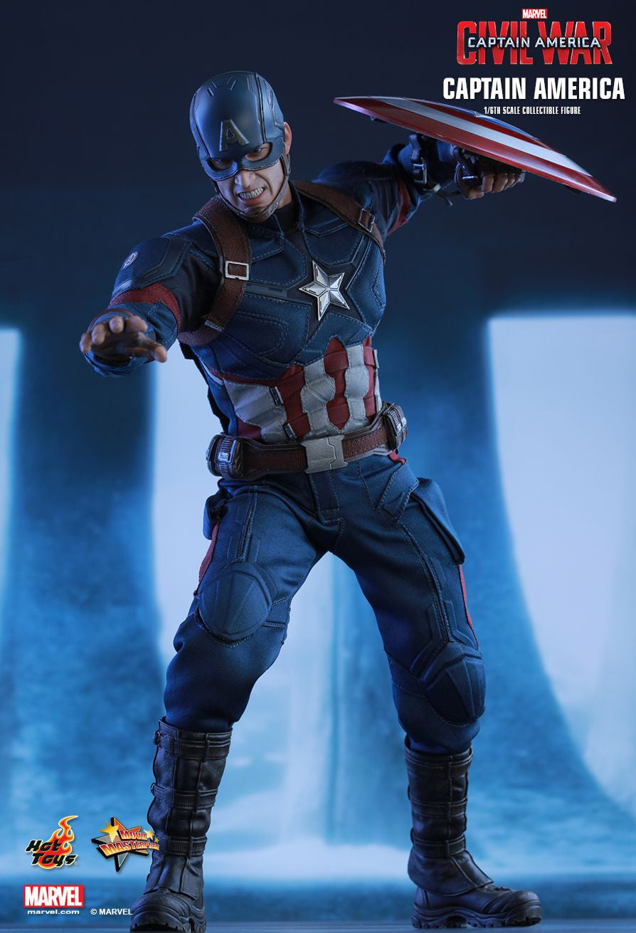 Hot Toys - Captain America: Civil War - Captain America MMS350 - Marvelous Toys - 1