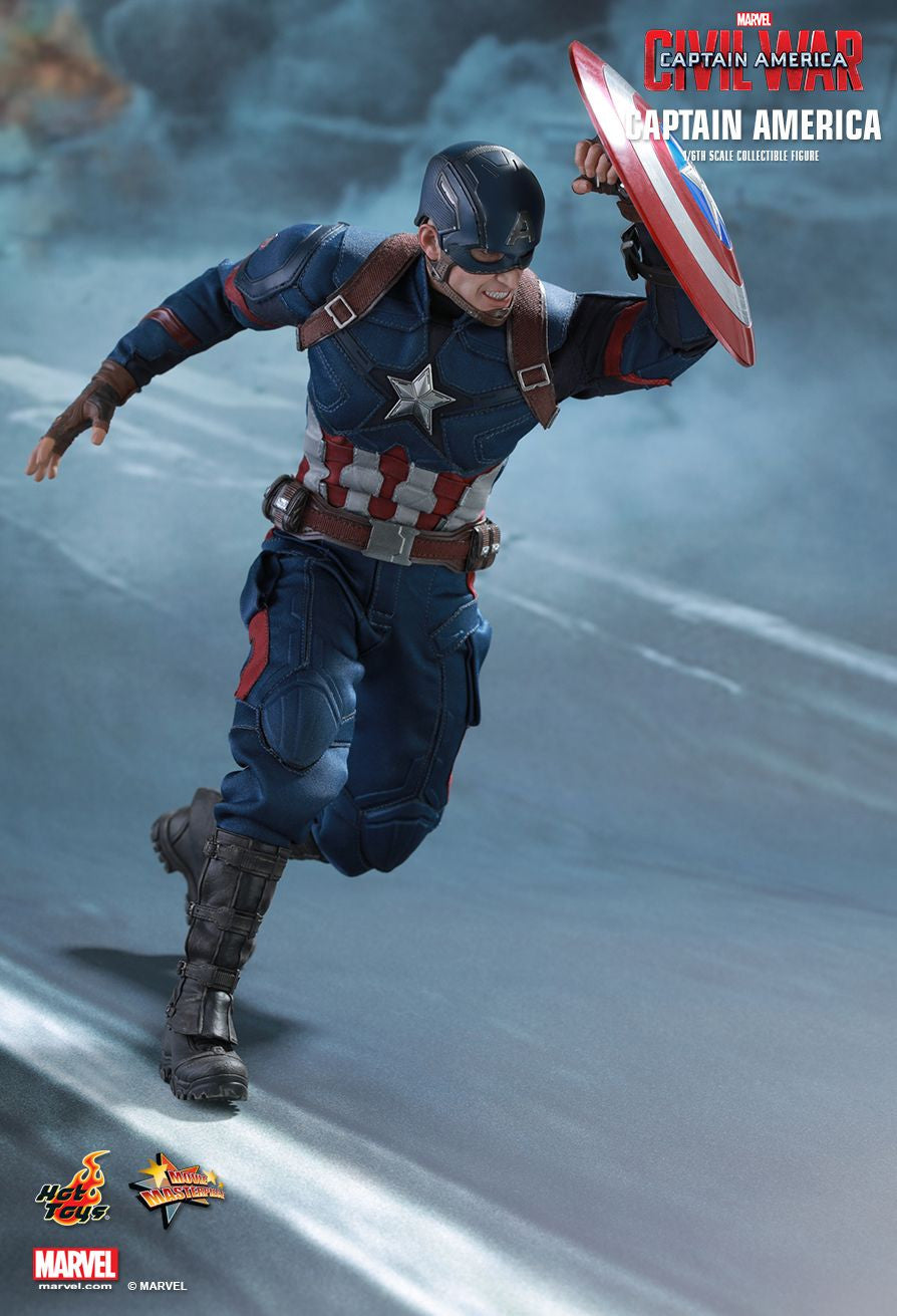 Hot Toys - Captain America: Civil War - Captain America MMS350 - Marvelous Toys - 7