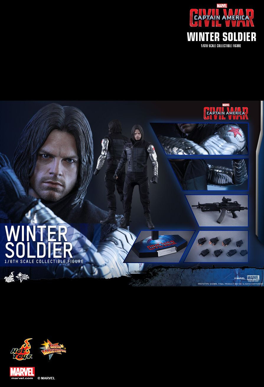Hot Toys - Captain America: Civil War - Winter Soldier MMS351 - Marvelous Toys - 7