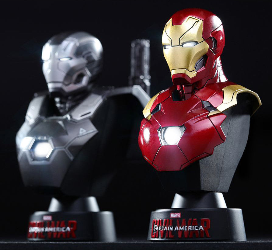 (IN STOCK) Hot Toys - HTB32 - Captain America: Civil War - Iron Man Mark XLVI Collectible Bust - Marvelous Toys - 3