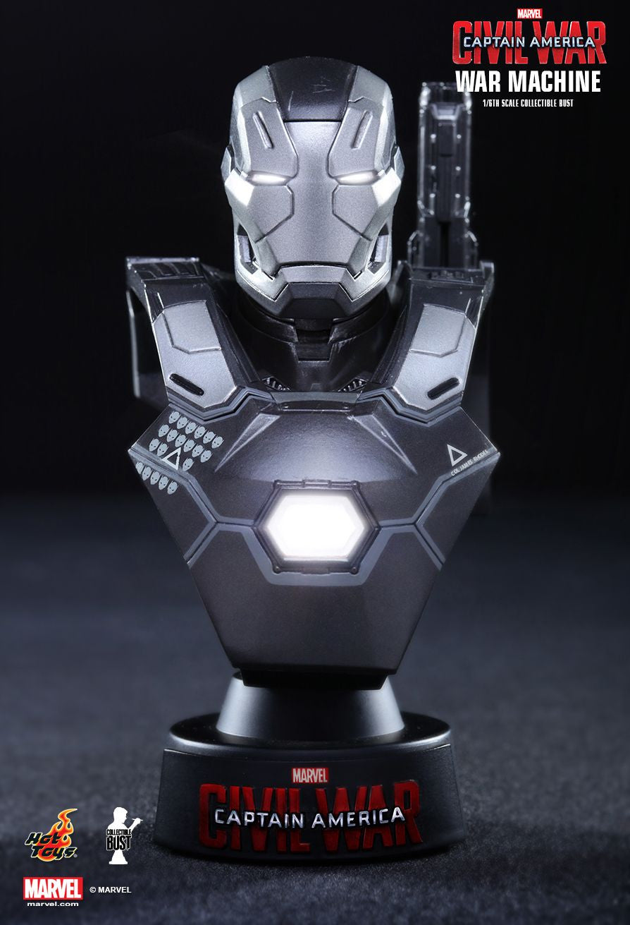 (IN STOCK) Hot Toys - HTB33 - Captain America: Civil War - War Machine Mark III Collectible Bust - Marvelous Toys - 1