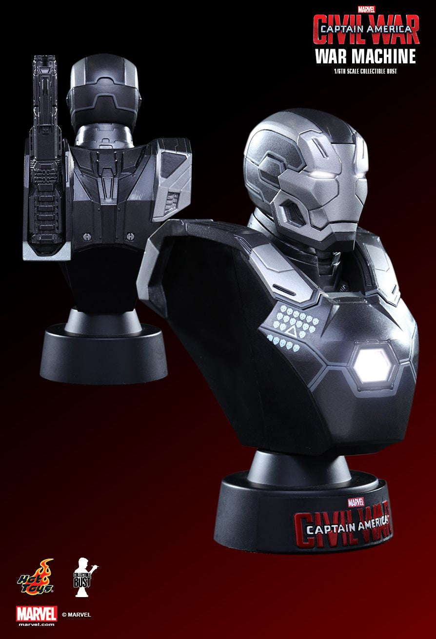 (IN STOCK) Hot Toys - HTB33 - Captain America: Civil War - War Machine Mark III Collectible Bust - Marvelous Toys - 2