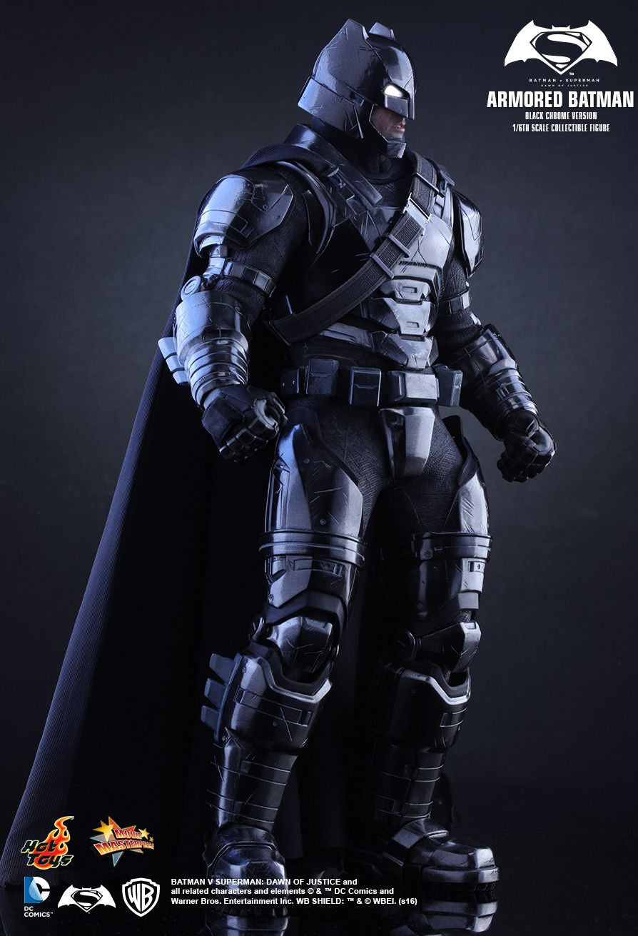 Hot Toys - Batman v Superman: Dawn of Justice - Armored Batman (Black Chrome Ver.) MMS356 - Marvelous Toys - 10