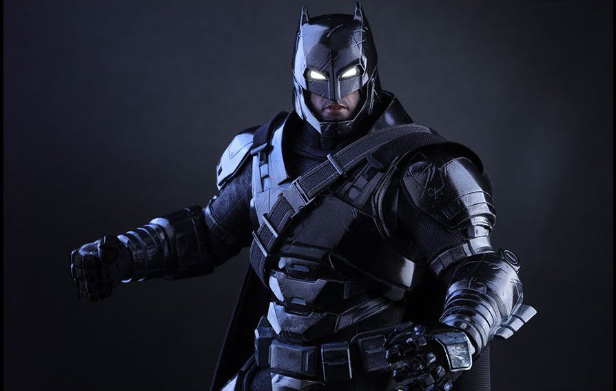 Hot Toys - Batman v Superman: Dawn of Justice - Armored Batman (Black Chrome Ver.) MMS356 - Marvelous Toys - 4