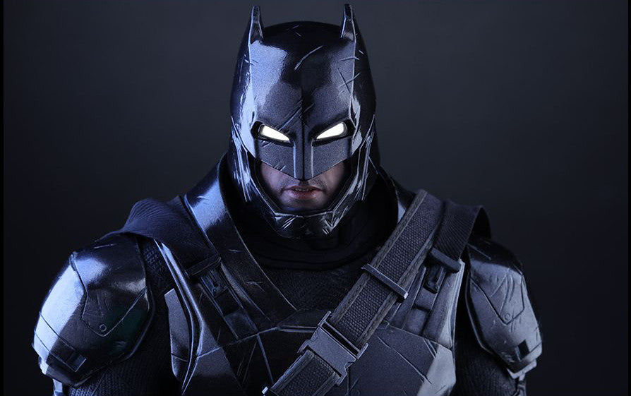 Hot Toys - Batman v Superman: Dawn of Justice - Armored Batman (Black Chrome Ver.) MMS356 - Marvelous Toys - 6