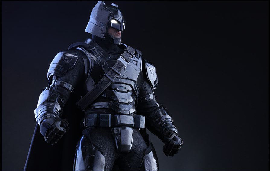 Hot Toys - Batman v Superman: Dawn of Justice - Armored Batman (Black Chrome Ver.) MMS356 - Marvelous Toys - 7