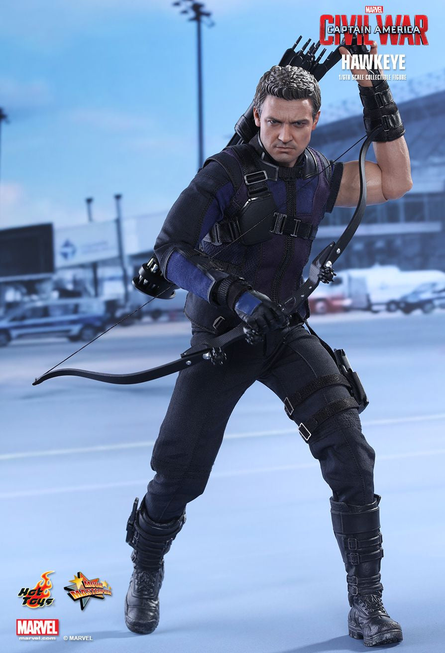 (IN STOCK) Hot Toys - MMS358 - Captain America: Civil War - Hawkeye - Marvelous Toys - 7