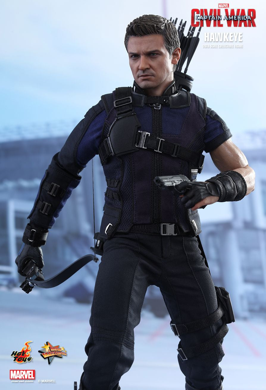 (IN STOCK) Hot Toys - MMS358 - Captain America: Civil War - Hawkeye - Marvelous Toys - 4