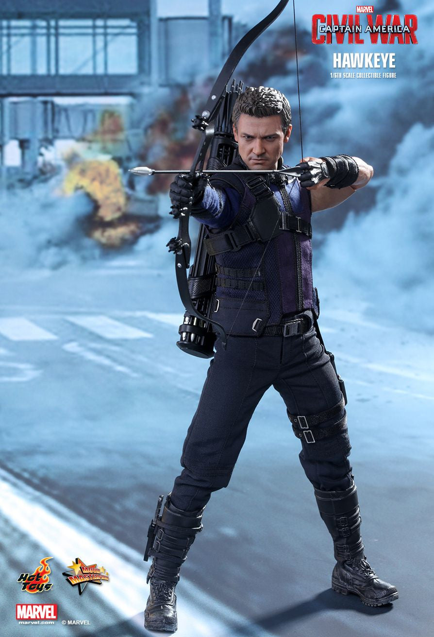 (IN STOCK) Hot Toys - MMS358 - Captain America: Civil War - Hawkeye - Marvelous Toys - 12