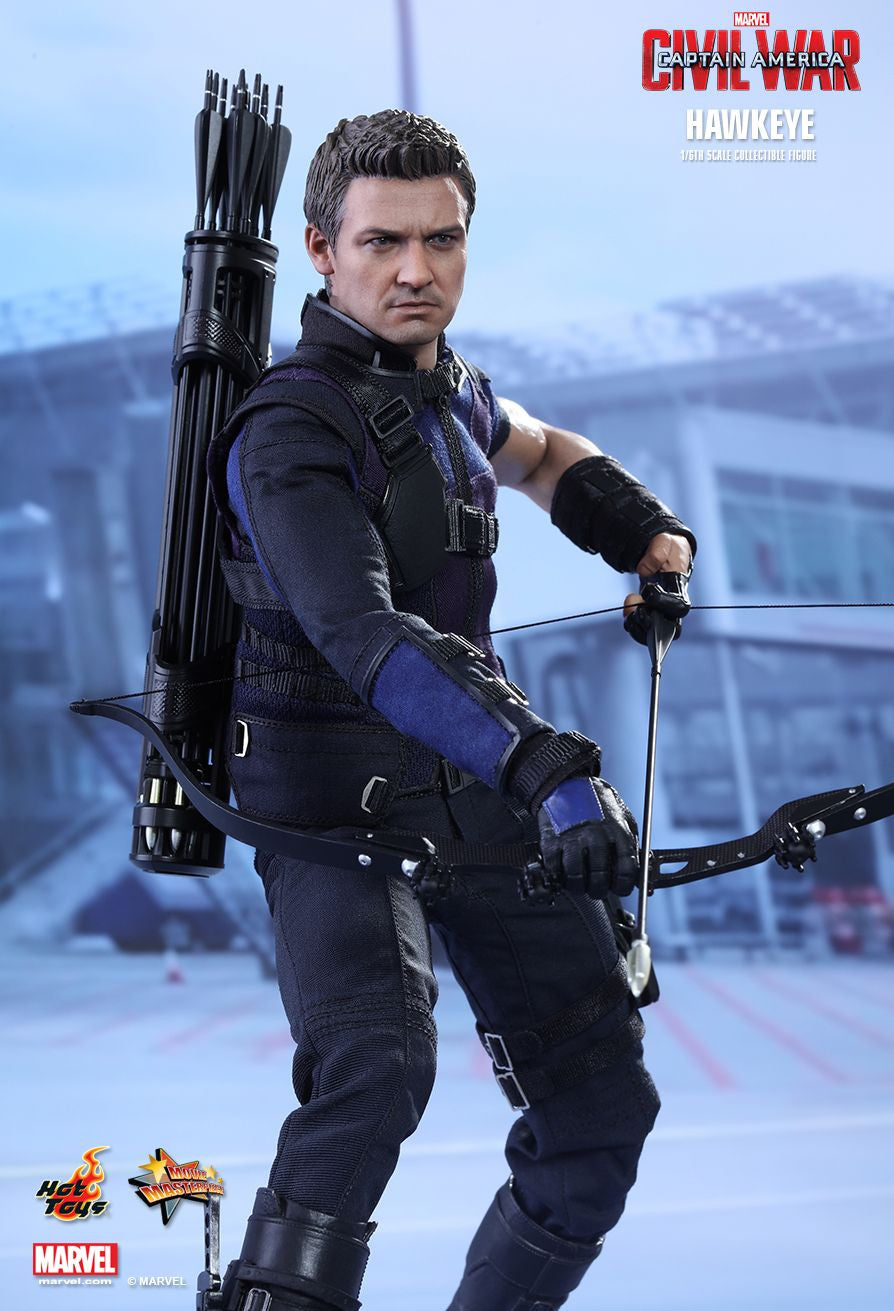 (IN STOCK) Hot Toys - MMS358 - Captain America: Civil War - Hawkeye - Marvelous Toys - 6