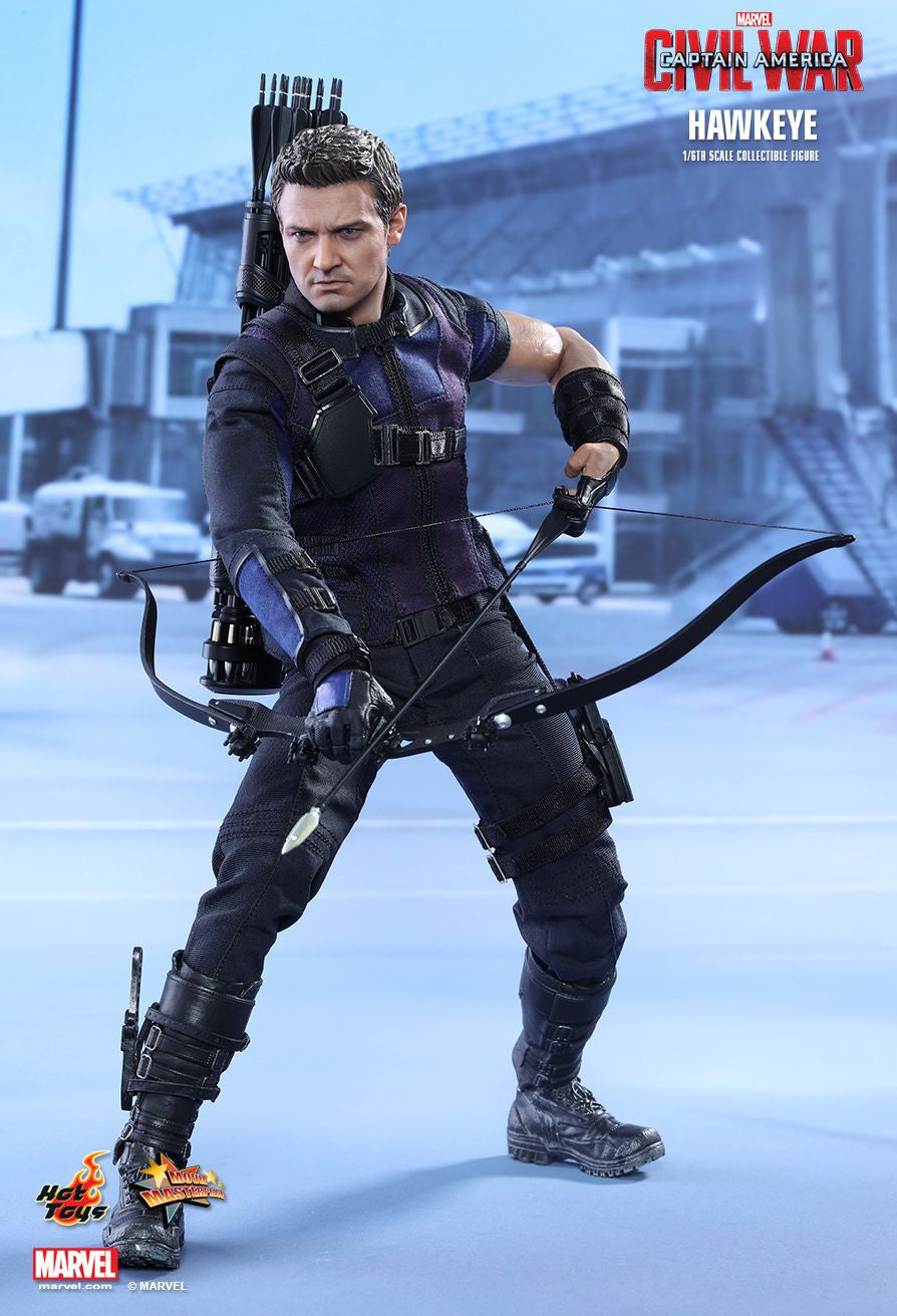 (IN STOCK) Hot Toys - MMS358 - Captain America: Civil War - Hawkeye - Marvelous Toys - 8