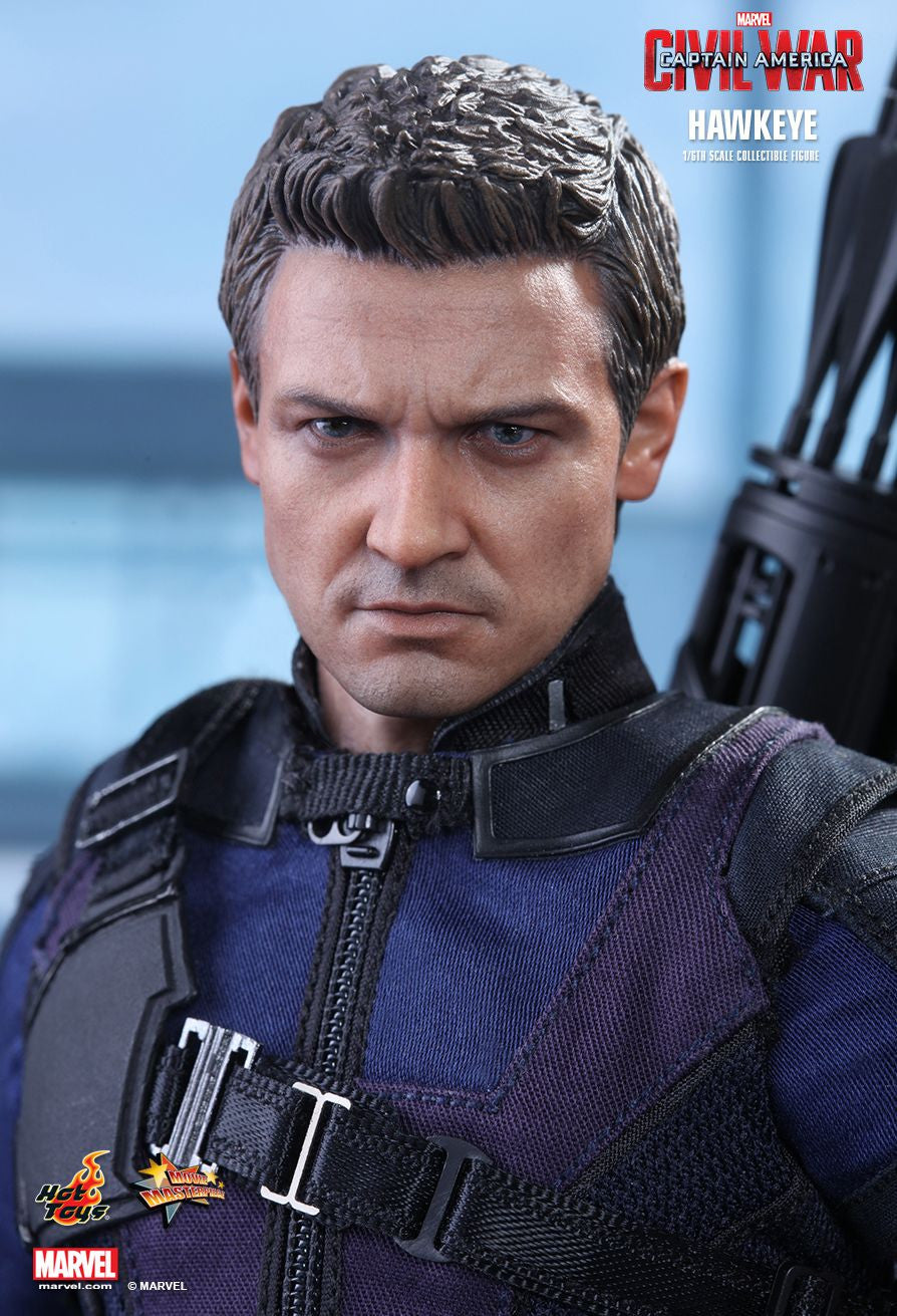 (IN STOCK) Hot Toys - MMS358 - Captain America: Civil War - Hawkeye - Marvelous Toys - 13