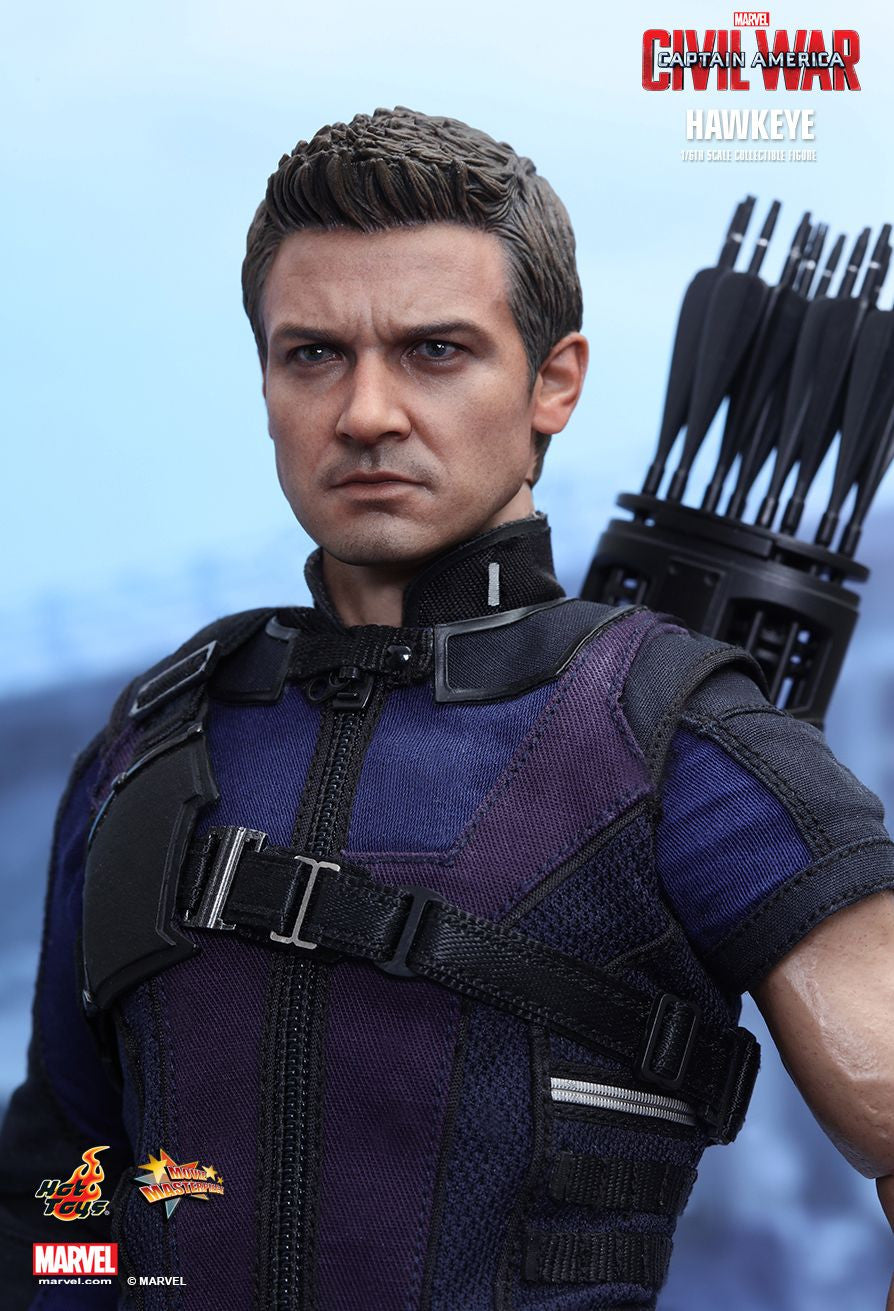 (IN STOCK) Hot Toys - MMS358 - Captain America: Civil War - Hawkeye - Marvelous Toys - 11