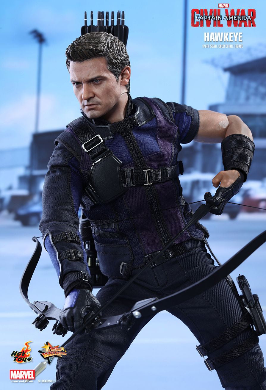 (IN STOCK) Hot Toys - MMS358 - Captain America: Civil War - Hawkeye - Marvelous Toys - 1