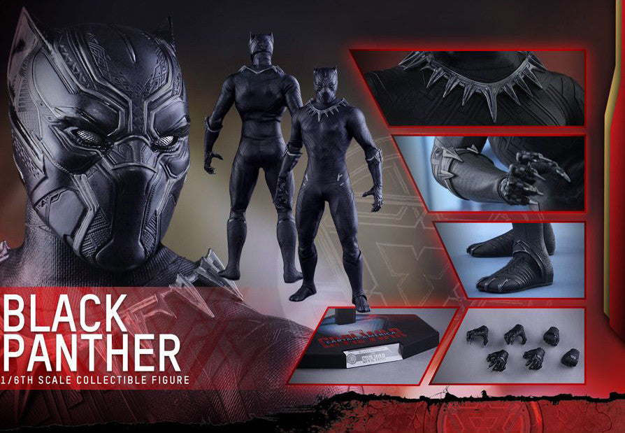 Hot Toys - MMS363 - Captain America: Civil War - Black Panther - Marvelous Toys - 7