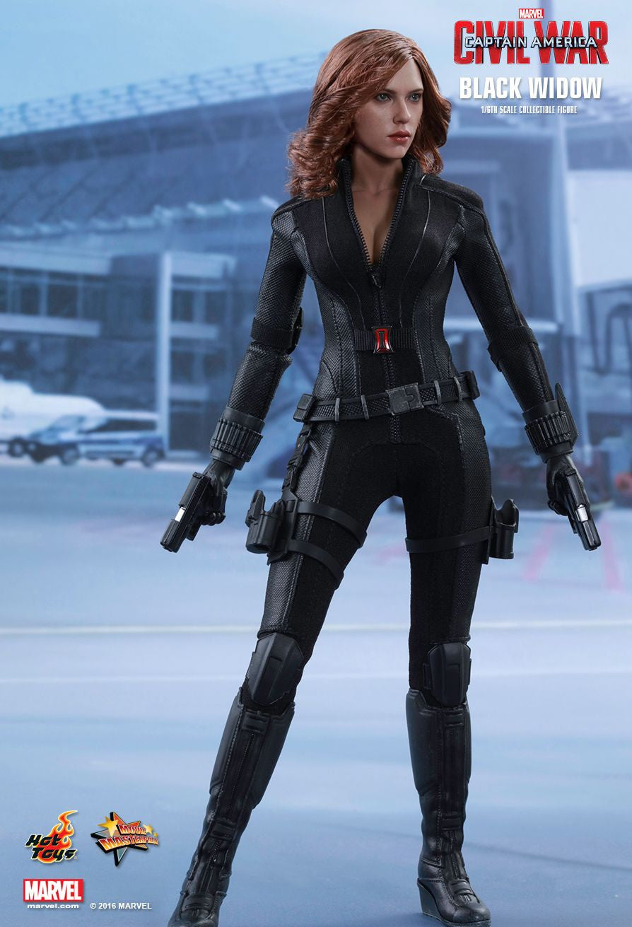 (IN STOCK) Hot Toys - MMS365 - Captain America: Civil War - Black Widow - Marvelous Toys - 11