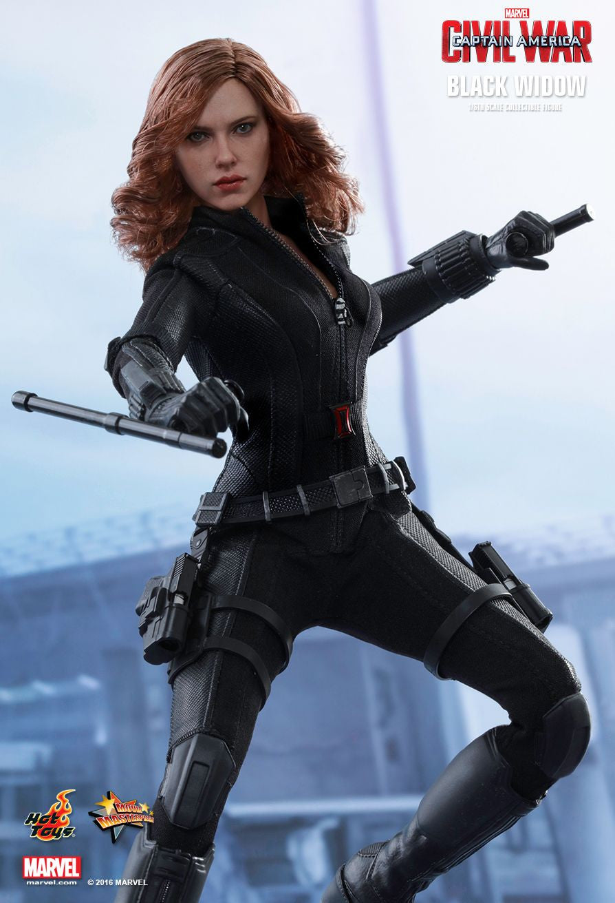 (IN STOCK) Hot Toys - MMS365 - Captain America: Civil War - Black Widow - Marvelous Toys - 4