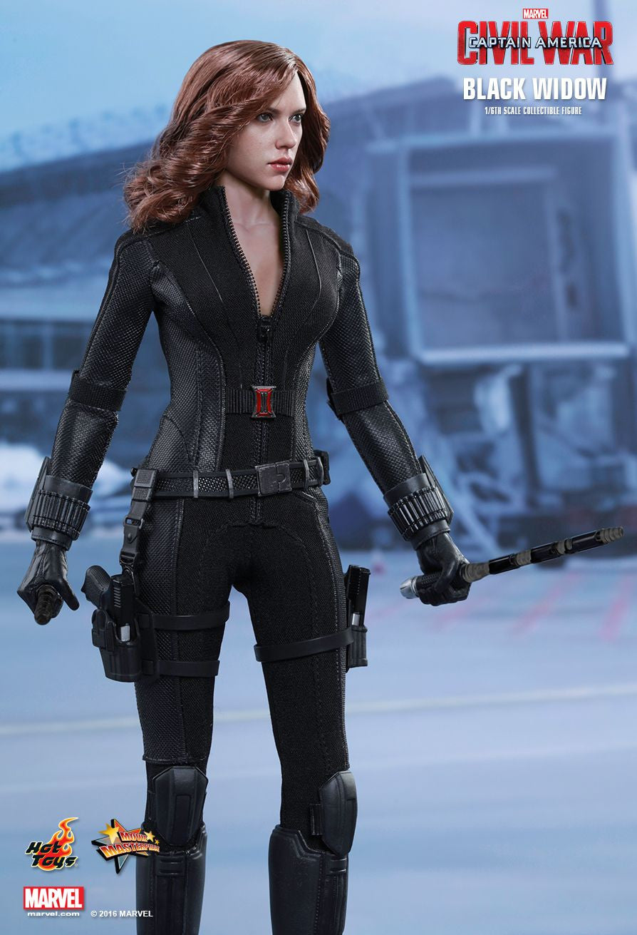 (IN STOCK) Hot Toys - MMS365 - Captain America: Civil War - Black Widow - Marvelous Toys - 5