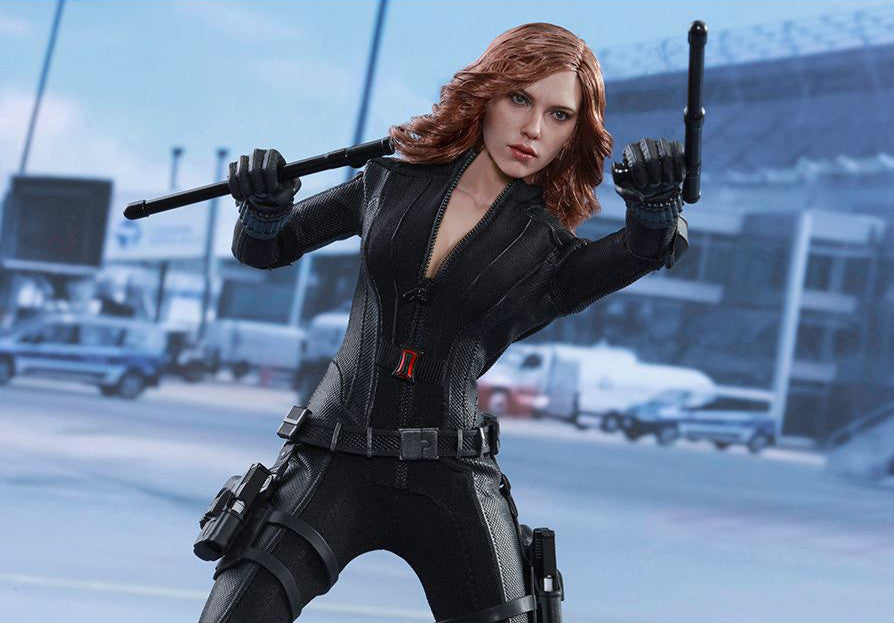 (IN STOCK) Hot Toys - MMS365 - Captain America: Civil War - Black Widow - Marvelous Toys - 7