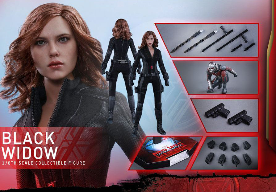 (IN STOCK) Hot Toys - MMS365 - Captain America: Civil War - Black Widow - Marvelous Toys - 15