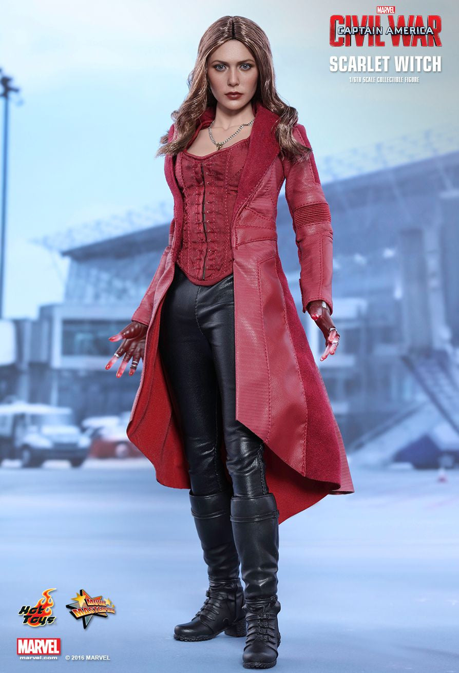 Hot Toys - MMS370 - Captain America: Civil War - Scarlet Witch - Marvelous Toys - 4