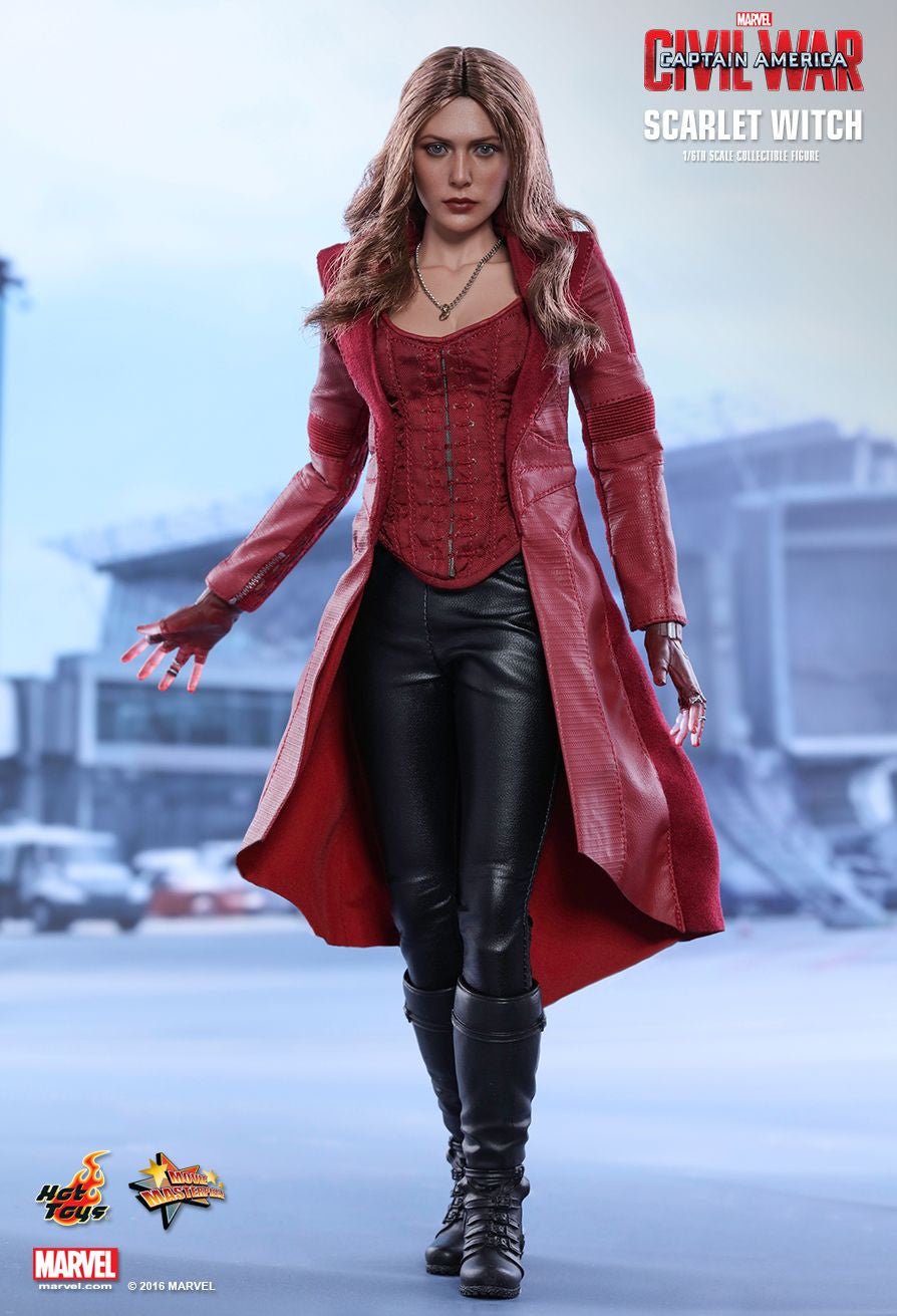 Hot Toys - MMS370 - Captain America: Civil War - Scarlet Witch - Marvelous Toys - 7