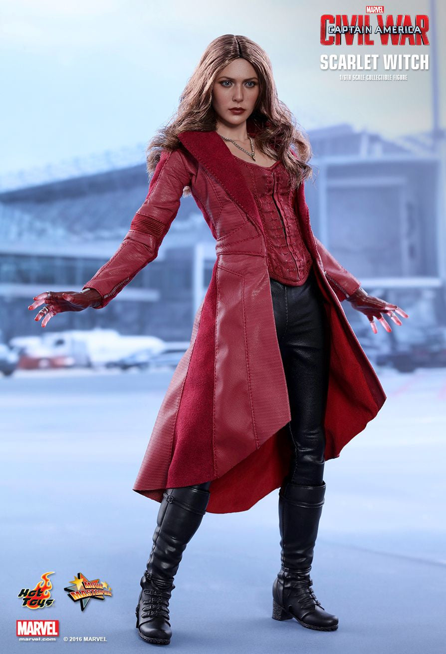 Hot Toys - MMS370 - Captain America: Civil War - Scarlet Witch - Marvelous Toys - 14