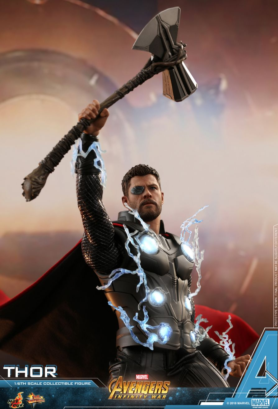(IN STOCK) Hot Toys - MMS474 - Avengers: Infinity War - Thor