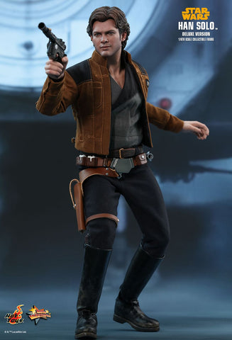 Hot Toys - MMS492 - Solo: A Star Wars Story - Han Solo (Deluxe)
