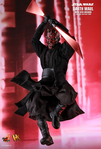 (IN STOCK) Hot Toys - DX17 - Star Wars: The Phantom Menace - Darth Maul with Sith Speeder