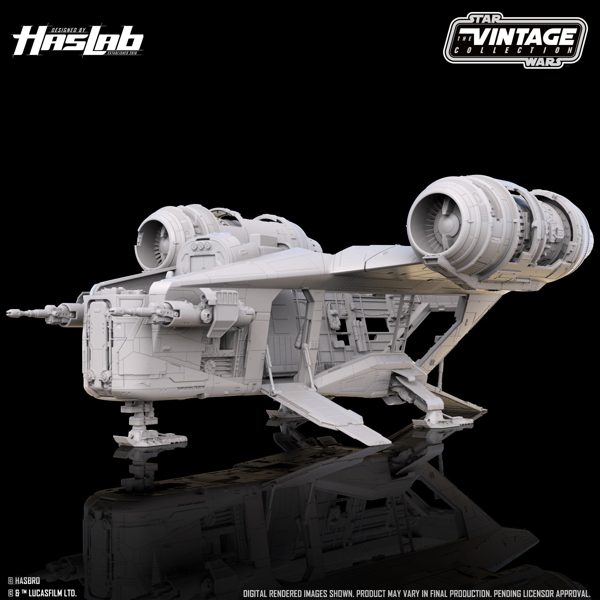Hasbro - Star Wars: The Vintage Collection - The Mandalorian - Razor Crest (HasLab Crowdfund)