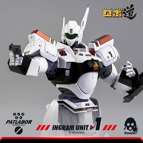 ThreeZero - Mobile Police Patlabor - ROBO-DOU Ingram Unit 1 (1/35 Scale)