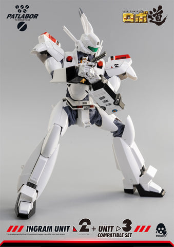 ThreeZero - ROBO-DOU - Mobile Police Patlabor - Ingram Unit 2 + Unit 3 Compatible Set (1/35 Scale)