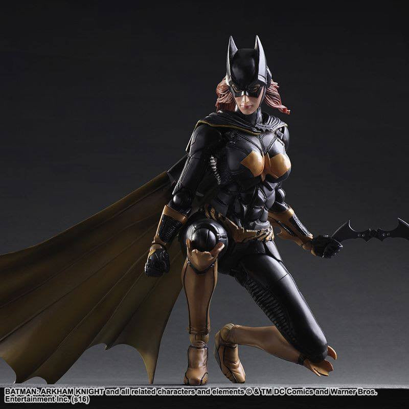 Play Arts Kai - Arkham Knight - Batgirl - Marvelous Toys - 5
