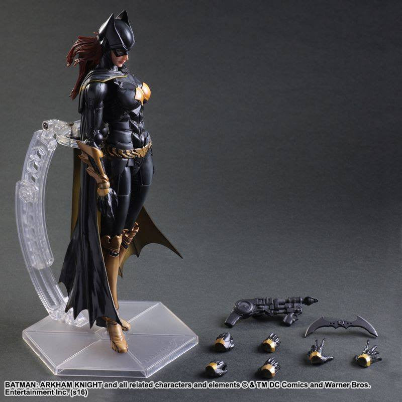 Play Arts Kai - Arkham Knight - Batgirl - Marvelous Toys - 8