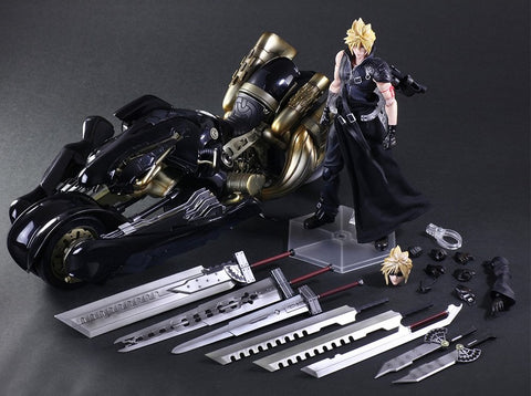 Play Arts Kai - Final Fantasy VII: Advent Children - Cloud Strife and Fenrir