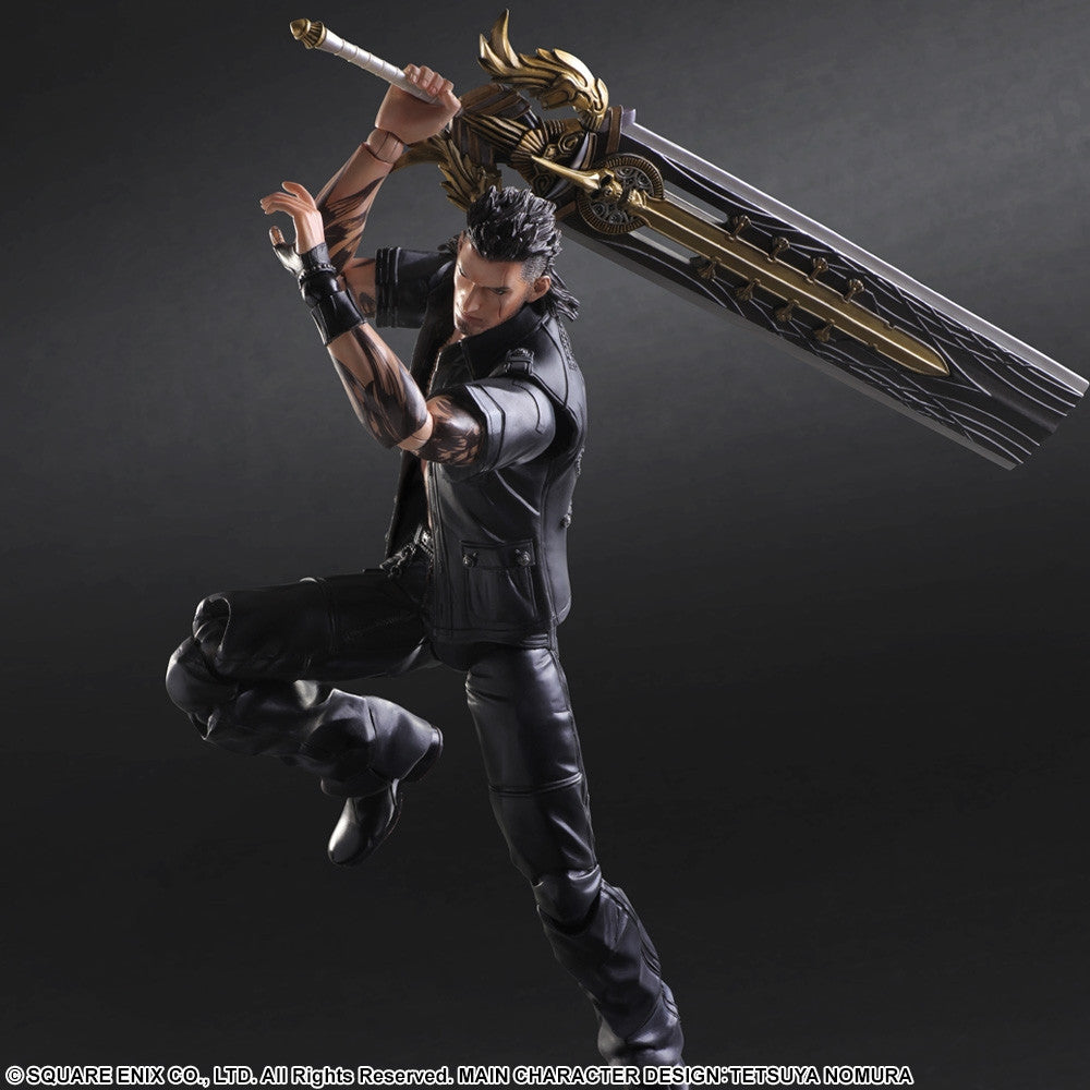Play Arts Kai - Final Fantasy XV - Gladiolus - Marvelous Toys - 3